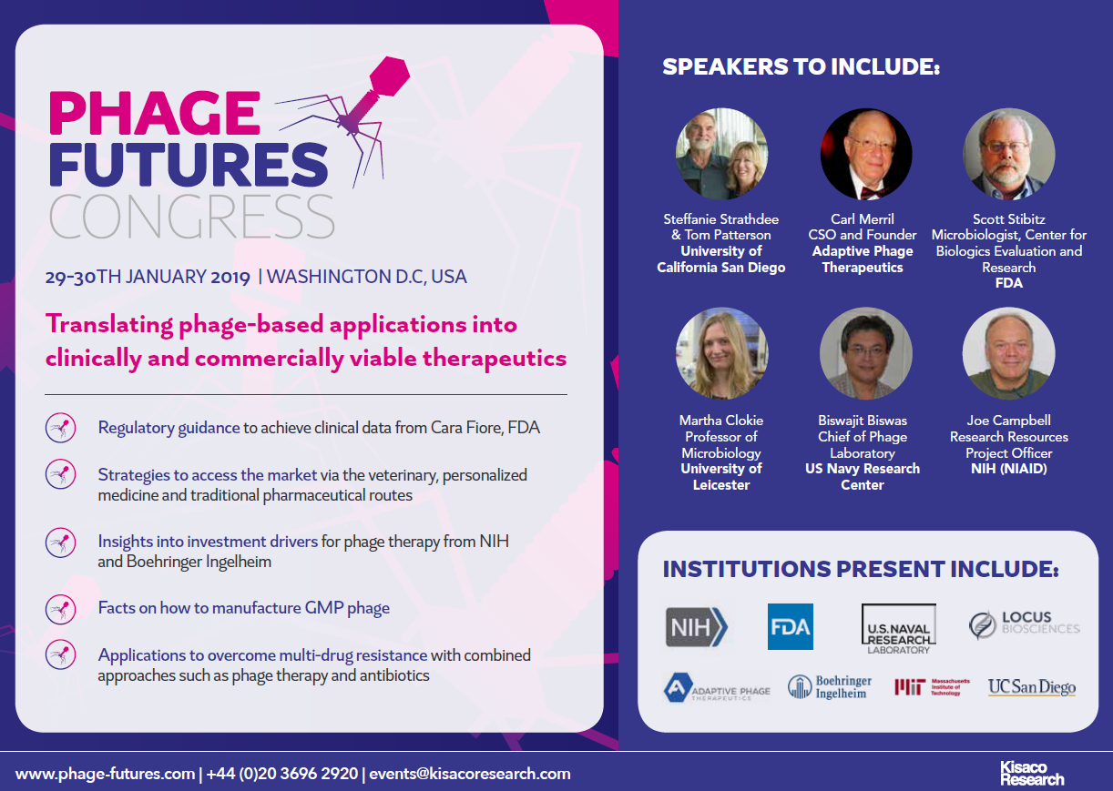Phage Futures Congress 2018